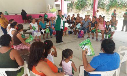 Con capacitación y proyectos adecuados se lograrán buenas cosechas: Maryanela Monroy