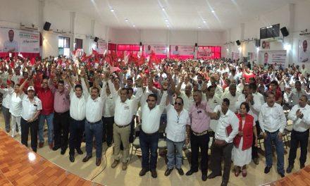 Ante más de mil 300 personas, arrancó su campaña rumbo a la Diputación local José Rolando Núñez Uribe