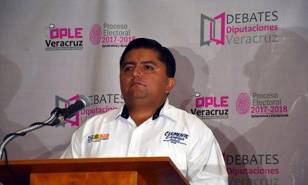 Con propuestas de cambio y ciudadanas ganamos el debate: Clemente Campos