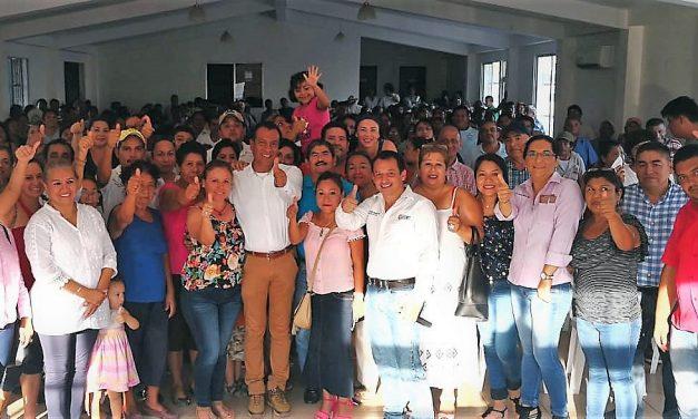 Respaldo total del Sindicato de Empleados Municipales, al candidato del PRI-VERDE, José Rolando Núñez