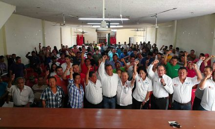 El sector obrero de la CTM, refrenda su apoyo a José Rolando Núñez, para llevarlo al triunfo el próximo 1 de julio