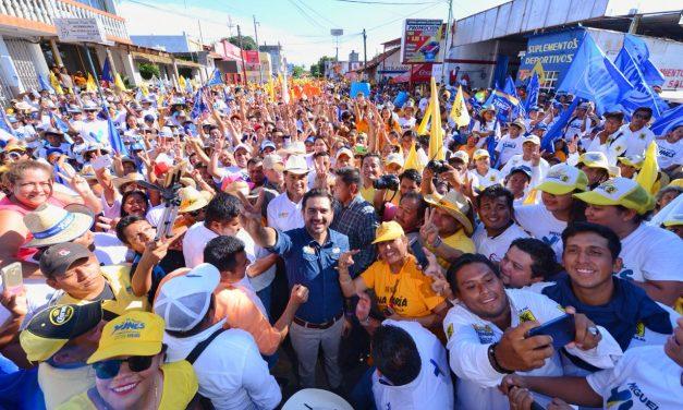 Miguel Ángel Yunes Márquez llama a votar para que el cambio continúe en Veracruz