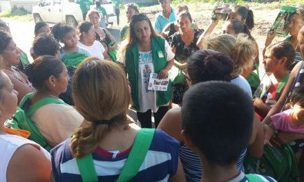 Maryanela Monroy recibe el apoyo y respaldo de los tuxpeños