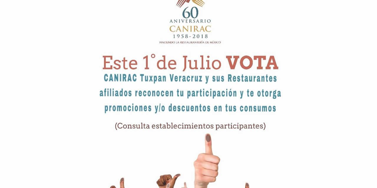 DESCUENTO Y PROMOCIONES PARA QUIEN VOTE