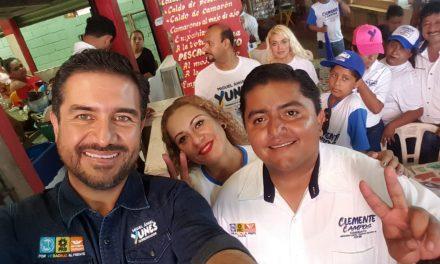 Con Miguel Ángel Yunez Márquez construiremos un mejor Veracruz: Clemente Campos