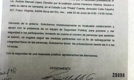 Falso que el Gobierno del Estado de Veracruz haya bloqueado el evento de cierre de campaña del partido MORENA, por el contrario, se les dieron todas las facilidades