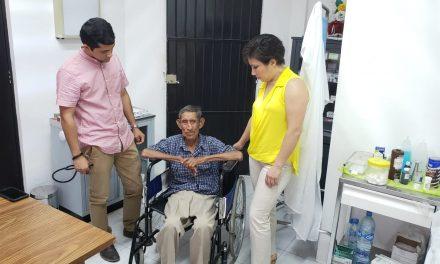 Resguarda DIF a adulto mayor