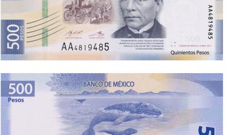 NUEVO BILLETE DE $500 PESOS