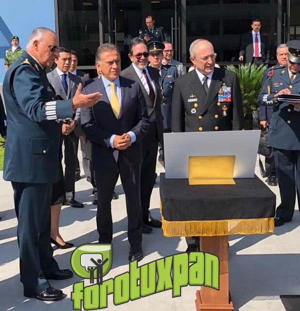 Gobernador Yunes se reúne con Secretarios de la Defensa Nacional y de Marina, para el rescate y promoción de la Fortaleza de San Carlos