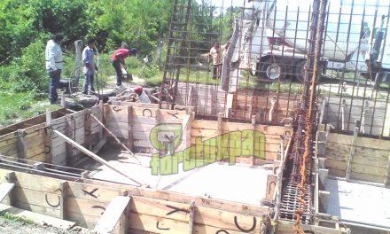 Se Reactivan Trabajos de Obras en Circuito Antorchista
