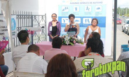 Instalan Módulo de Atención para Personas Autistas en DIF Tuxpan