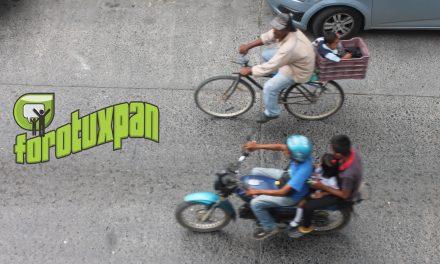 Operativos Constantes de Motocicletas en Tuxpan