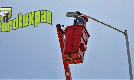 Líneas de Reporte en Fallas de Alumbrado Público al servicio de Tuxpan