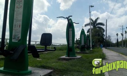 Rescate de Espacios Deportivos en Tuxpan por COMUDE