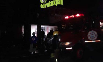 Incendio en Tenechaco