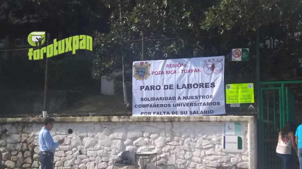 HUELGA EN LA UV