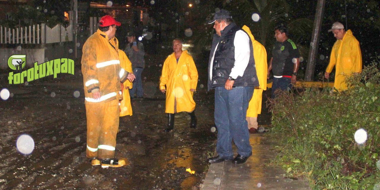 Alcalde supervisa acciones de auxilio a la población