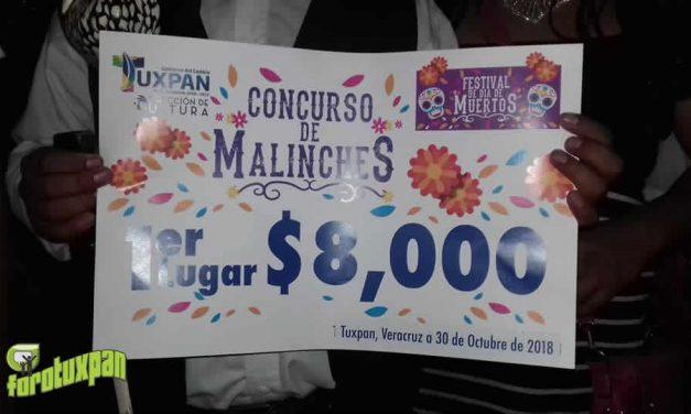 Ganadores del Concurso de Malinches en Tuxpan