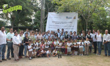 Inicio del Plan de Reforestación Tuxpan 2018