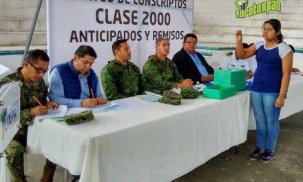 Sorteo del Servicio Militar Nacional clase 2000 anticipados y remisos