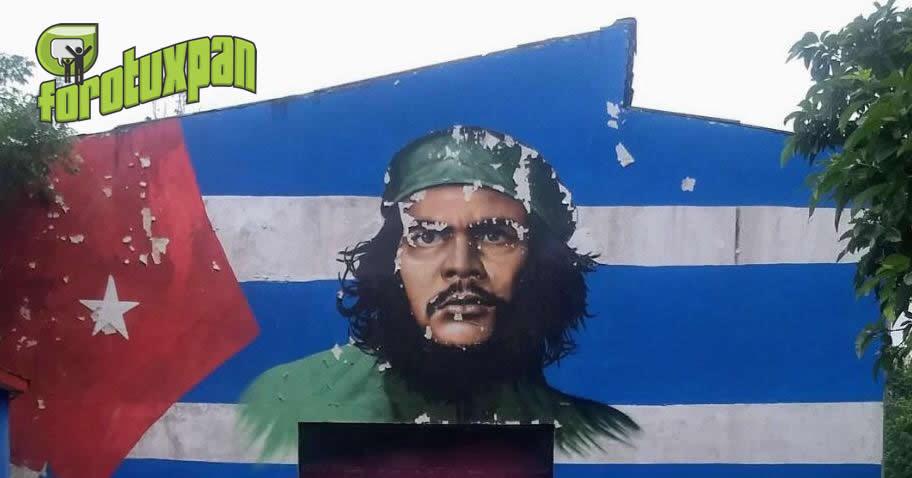 El mural que se encuentra en las inmediaciones del museo de la Amistad México-Cuba, será restaurado.
