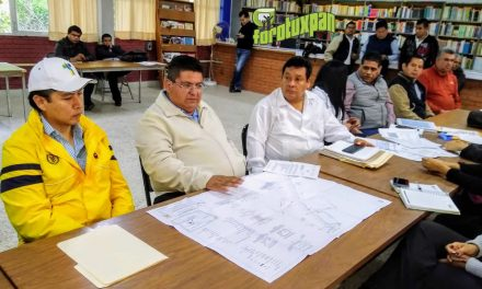 Alcalde respalda al CETIS 111 tras reunirse con directivos y padres de familia