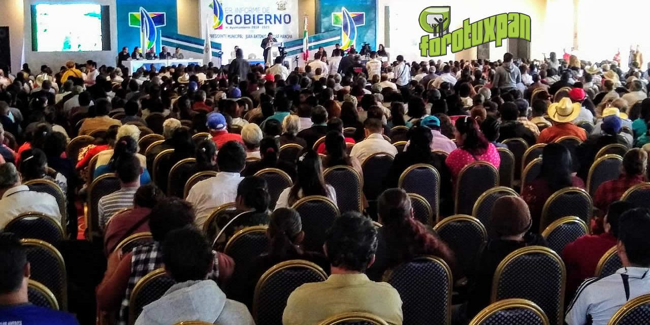 Rinde Toño Aguilar su Primer Informe de Labores