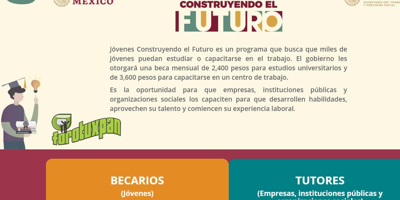 Jóvenes Construyendo el Futuro – Un programa del Gobierno Federal