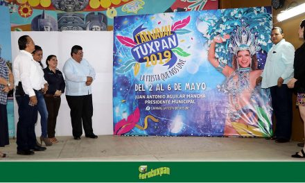Toño Aguilar presenta nuevas imágenes de Semana Santa y Carnaval Tuxpan 2019