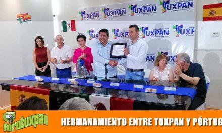 Hermanamiento entre Tuxpan y Pórtugos