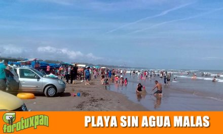 Playas de Tuxpan Libres de Agua Mala y Sargazo