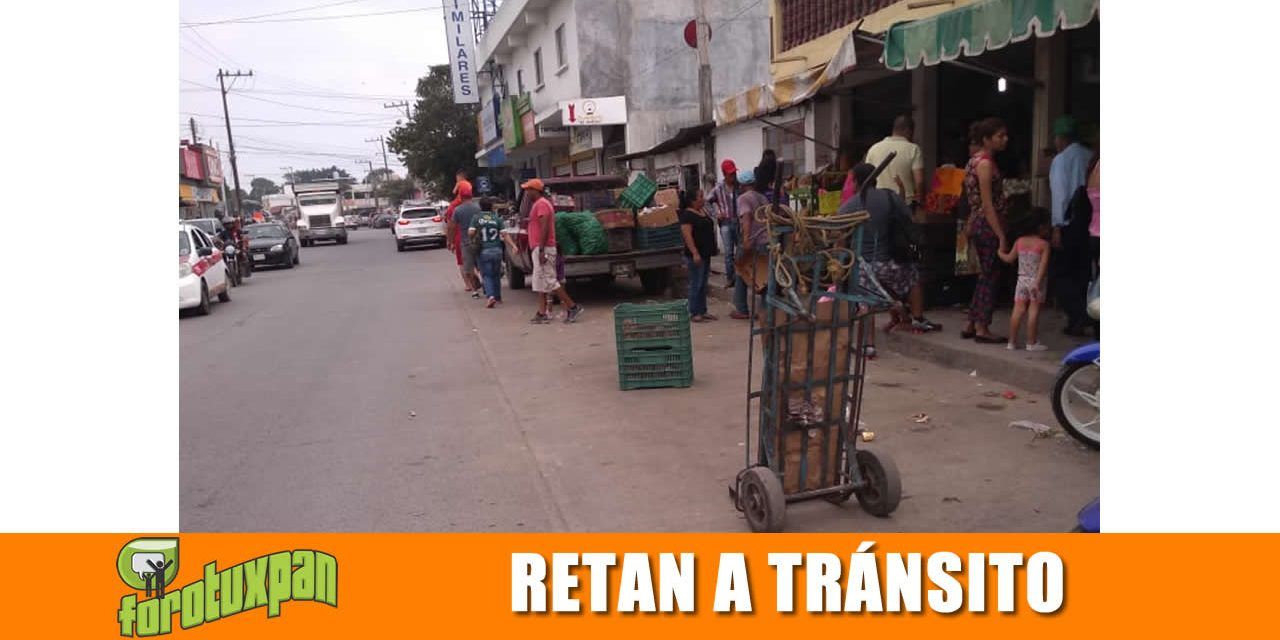 Comerciantes Retan a Tránsito Municipal