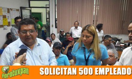 Solicitan 500 trabajadores del sector industrial