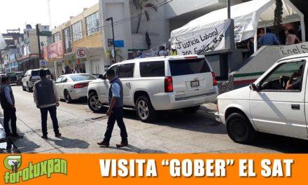 Visita «GOBER» el SAT