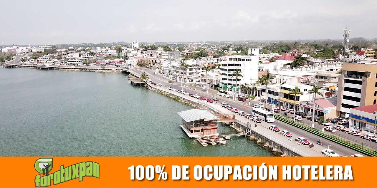 100% DE OCUPACIÓN HOTELERA