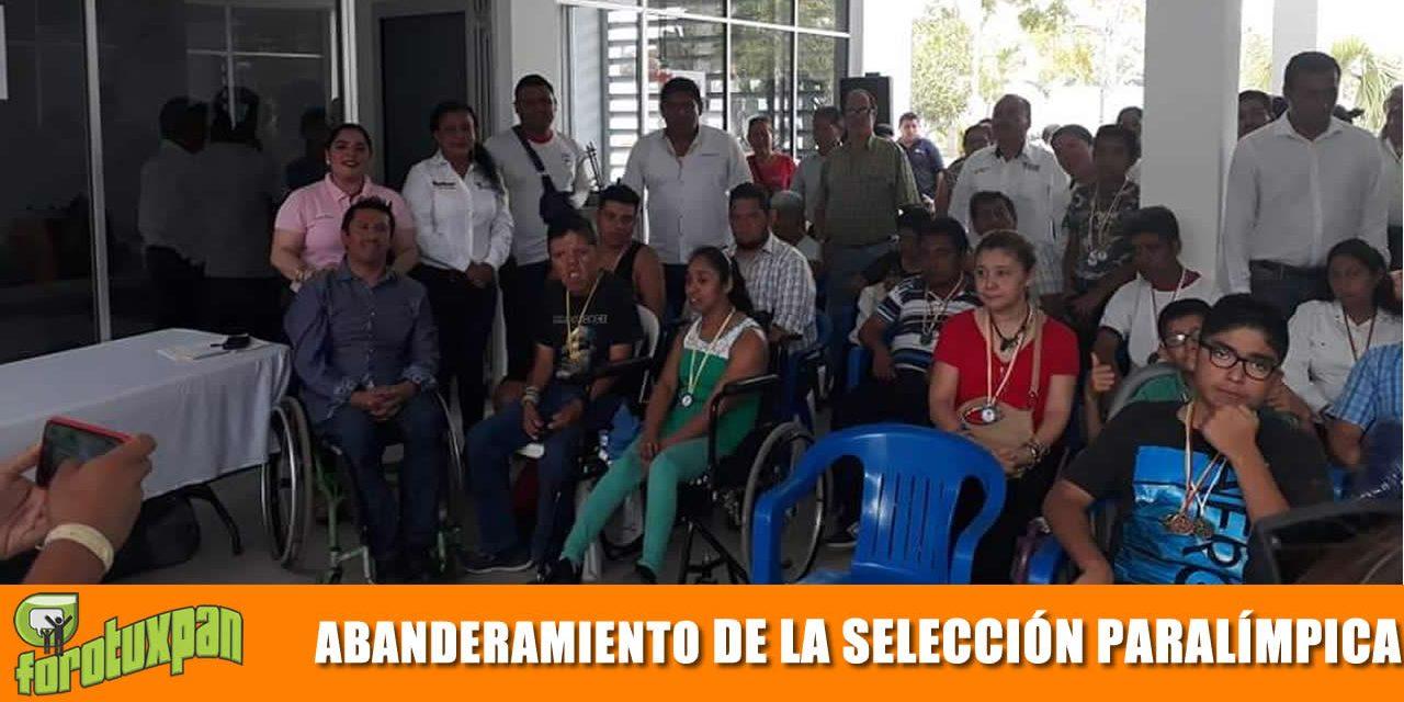 Abanderamiento de la selección Paralímpica
