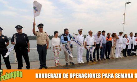 Autoridades dan Banderazo al Operativo Semana Santa 2019