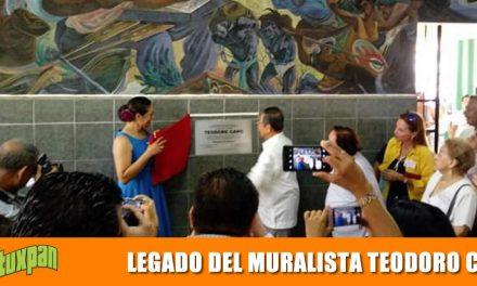 LEGADO DEL MURALISTA TEODORO CANO