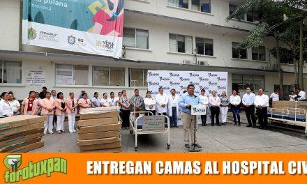 Gobierno Municipal entrega 30 camas al Hospital Civil