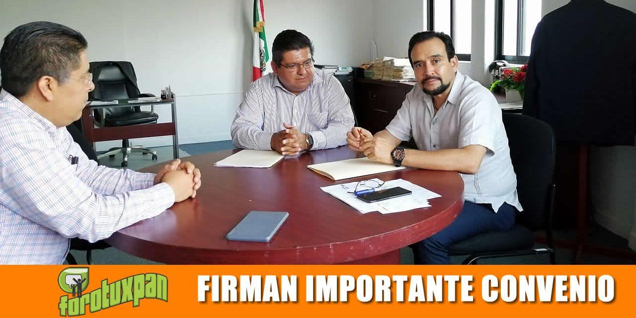 Gobierno Municipal e INSUS firman importante convenio