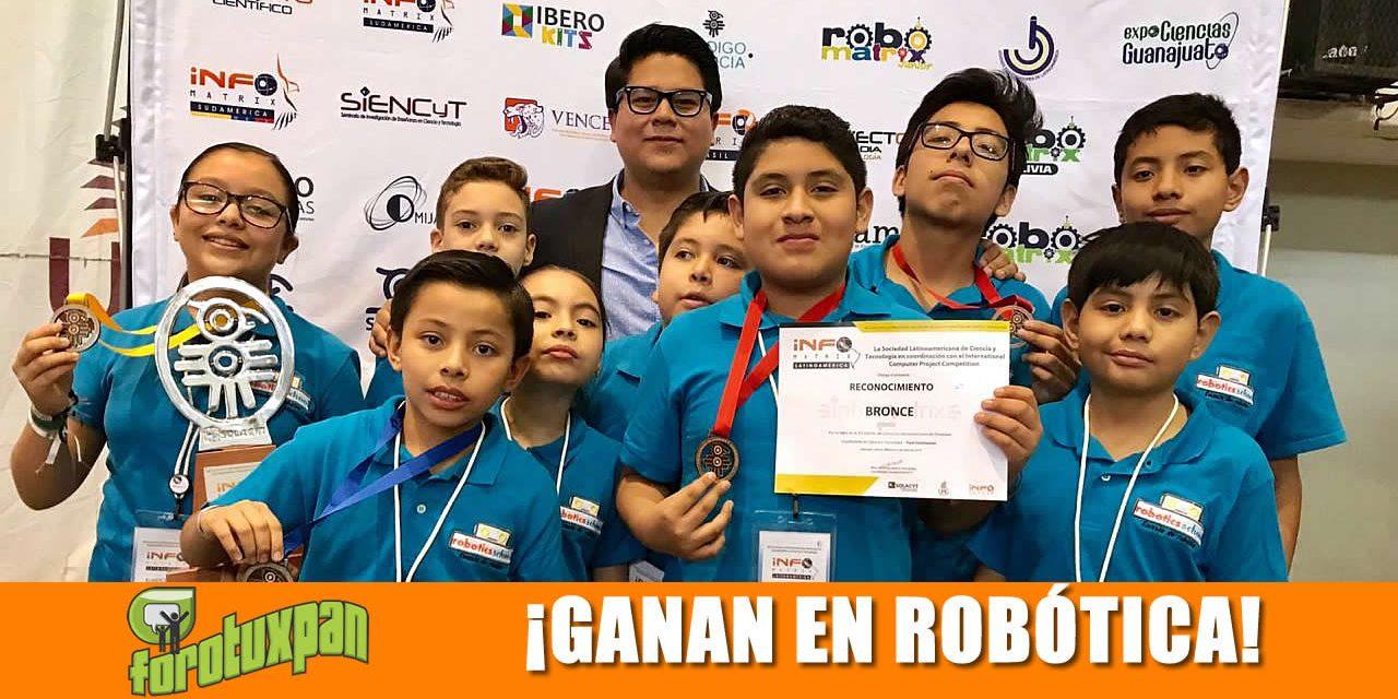 ESTUDIANTES TUXPEÑOS GANAN EN COMPETENCIA INTERCONTINENTAL DE ROBÓTICA