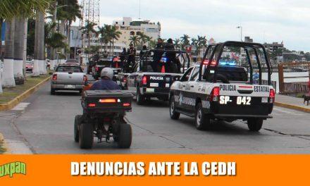 QUEJAS ENCONTRA DE LA FISCALIA, FUERZA CIVIL, POLICÍA MUNICIPAL Y ACOSO ESCOLAR