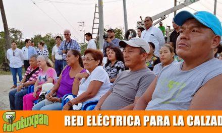 Red eléctrica para la Calzada y parque infantil para Casa Bella