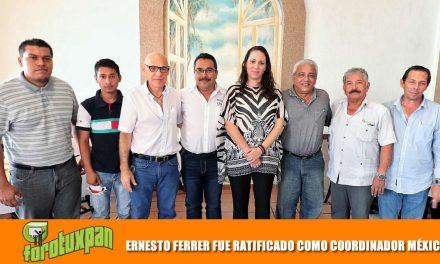ERNESTO FERRER FUE RATIFICADO COMO COORDINADOR DISTRITAL DE MÉXICO LIBRE