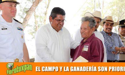 EL CAMPO Y LA GANADERÍA SON PRIORIDAD