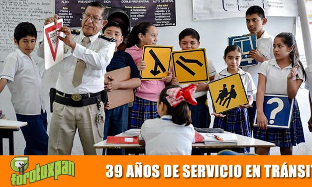 39 AÑOS DE SERVICIO EN TRÁNSITO
