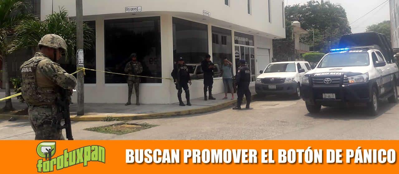 BUSCAN PROMOVER EL BOTÓN DE PÁNICO