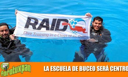 LA ESCUELA DE BUCEO SERÁ CENTRO RAID