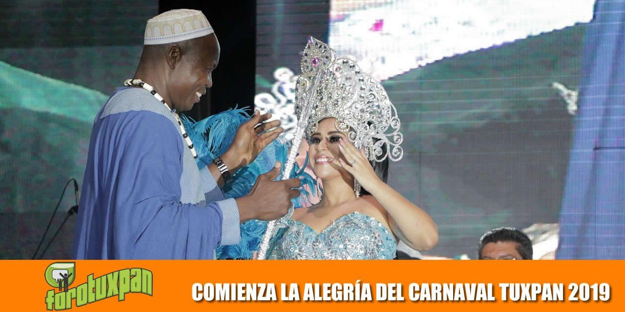 COMIENZA LA ALEGRÍA DEL CARNAVAL TUXPAN 2019