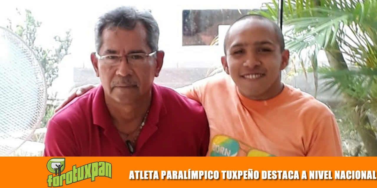 ATLETA PARALÍMPICO TUXPEÑO DESTACA A NIVEL NACIONAL
